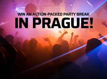 Win an action-packed party break in Prague