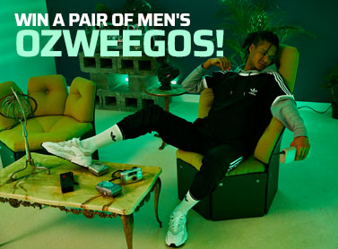 Win a pair of Men's Ozweegos