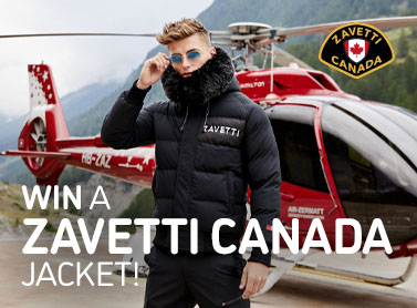 Embrace the elements this winter with the chance to win a Zavetti Canada Jacket