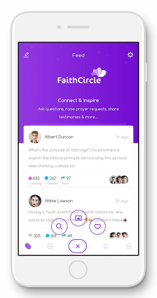 Faith Circle iPhone App