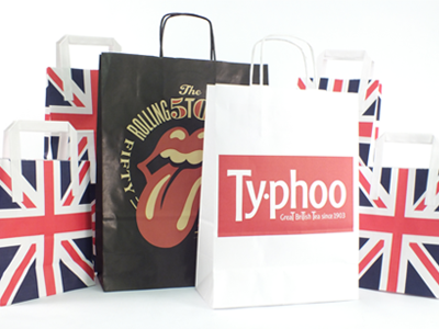 New Brand and Website Design for Burgass Carrier Bags