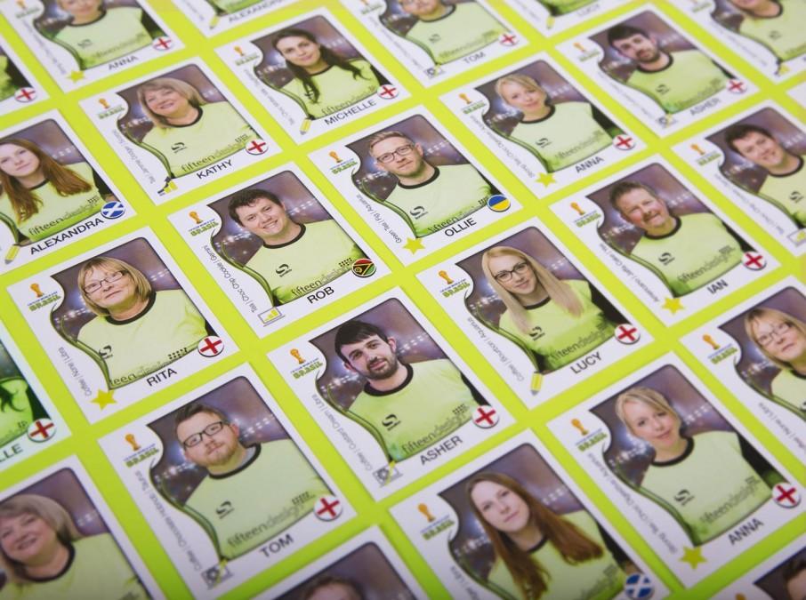 Fifteen World Cup Sticker Book