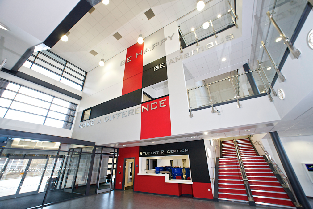 Responsive Website Design for City of Leicester College