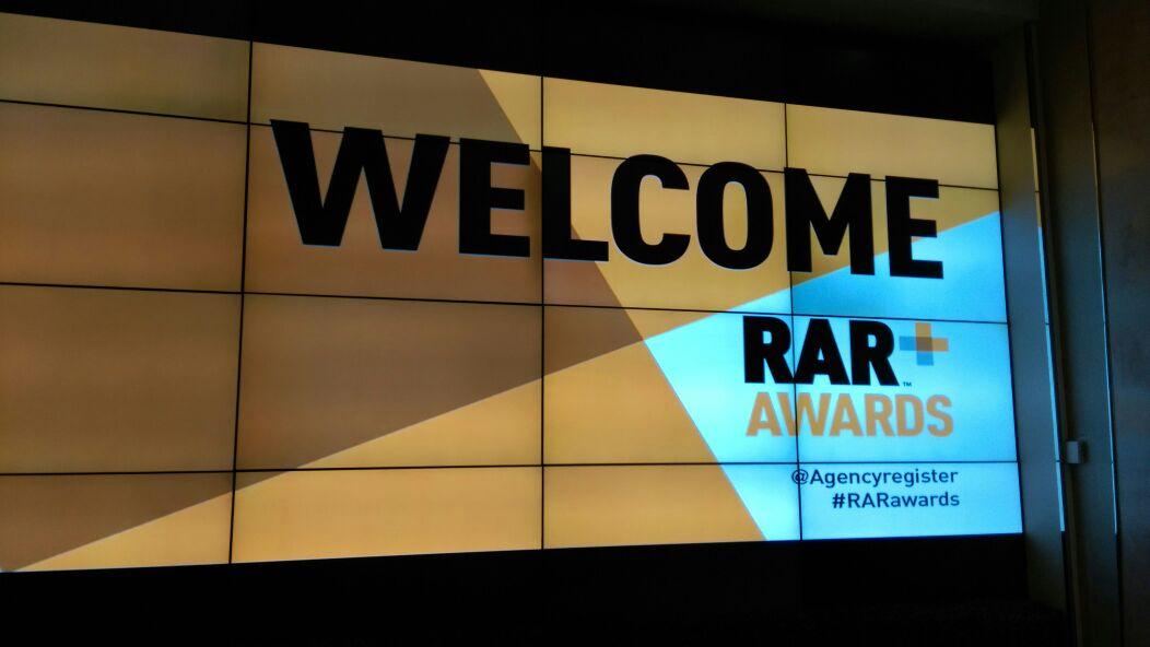 Attending the RAR Awards 2015