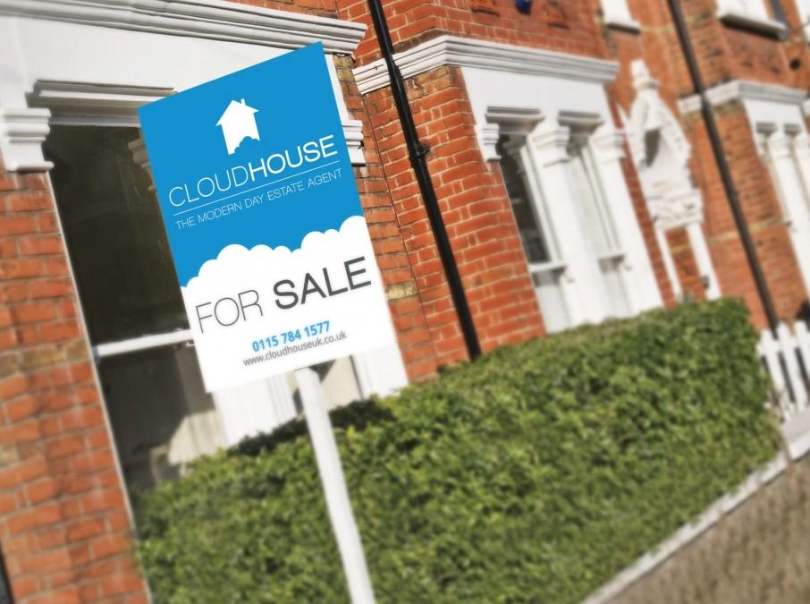 New Logo Design for Online Estate Agent, Cloudhouse