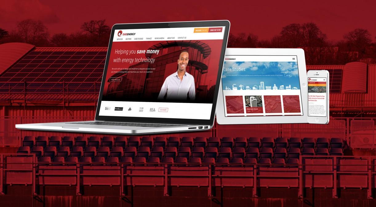New Website Design for Evo Energy
