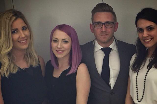 Fifteen's trip to the RAR Digital Awards 2015