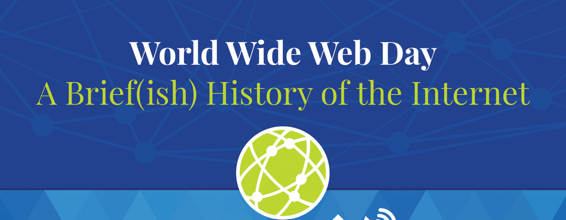 write a brief history of world wide web