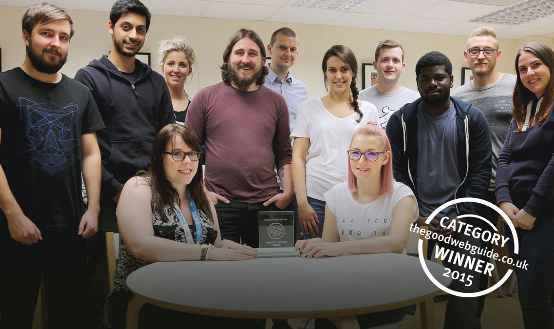 IKCA wins The Good Web Guide's Charity Website of the Year 2015