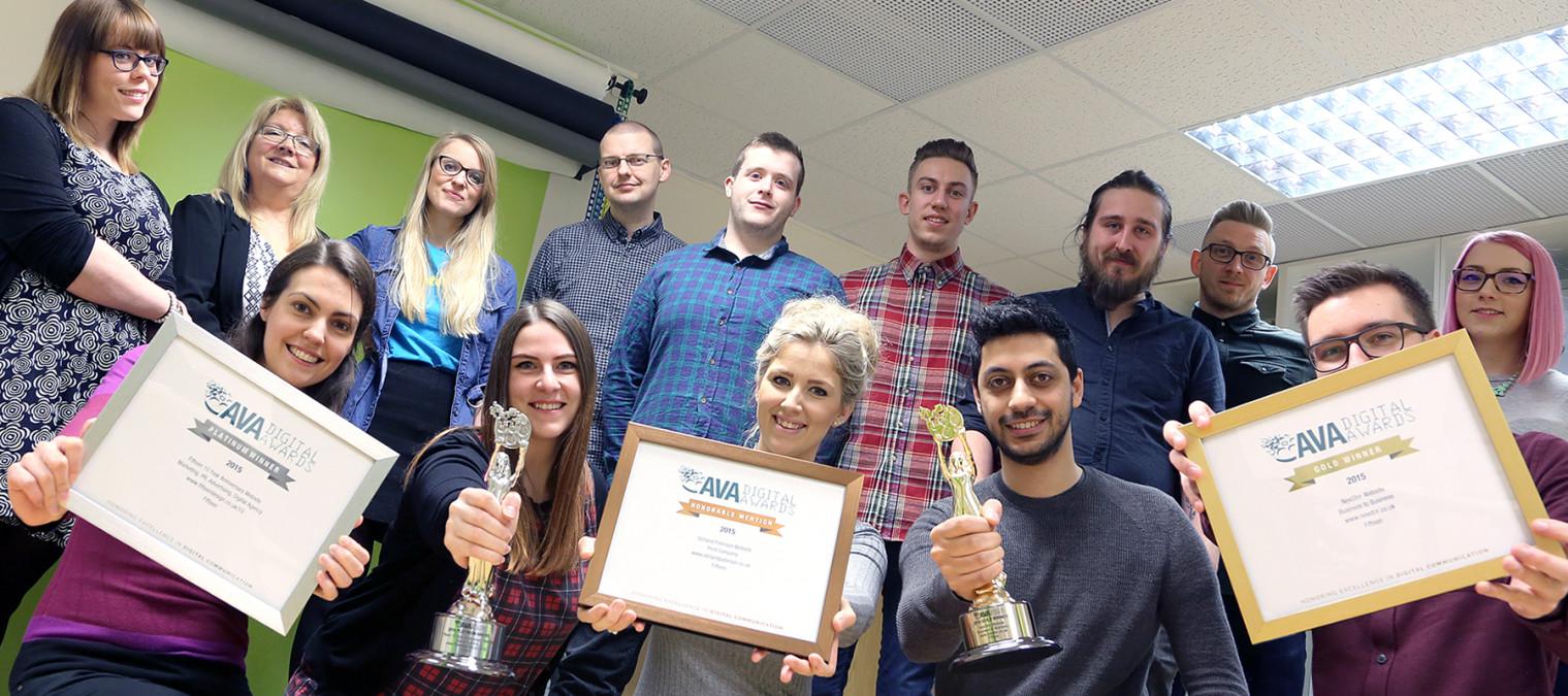 Fifteen win at the AVA Digital Awards 2016!