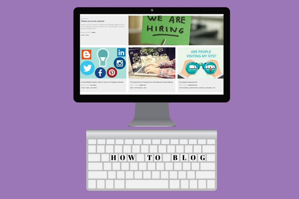Writing your blog posts with WordPress