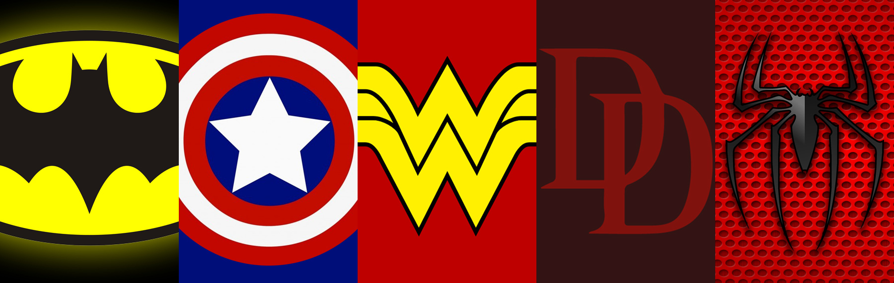 symbols of superheroes fifteen