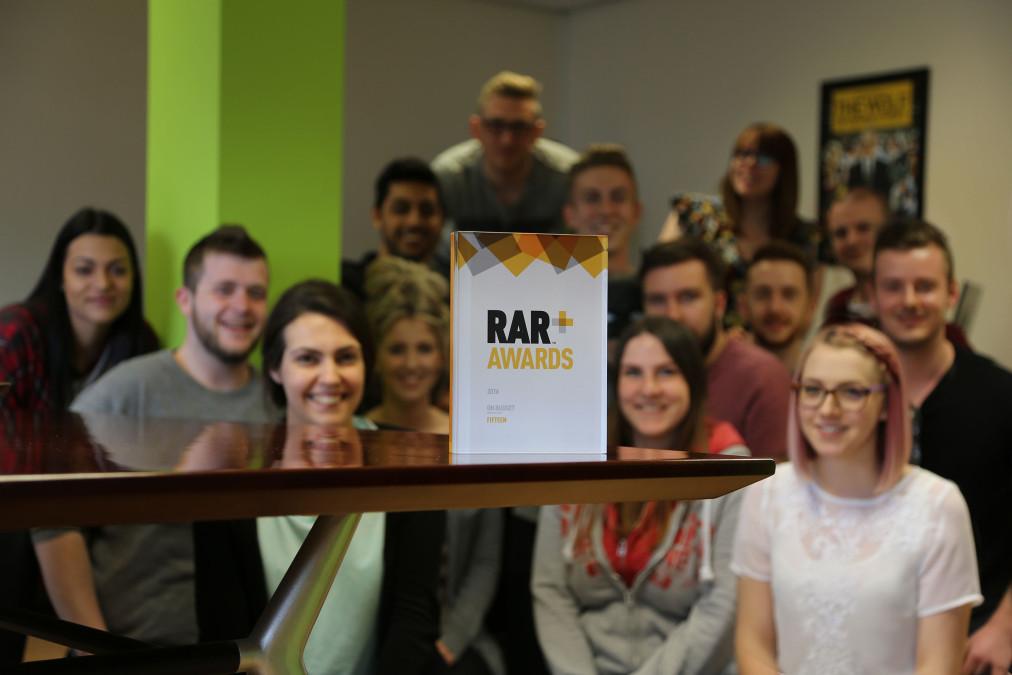 Fifteen win at the RAR Awards 2016!