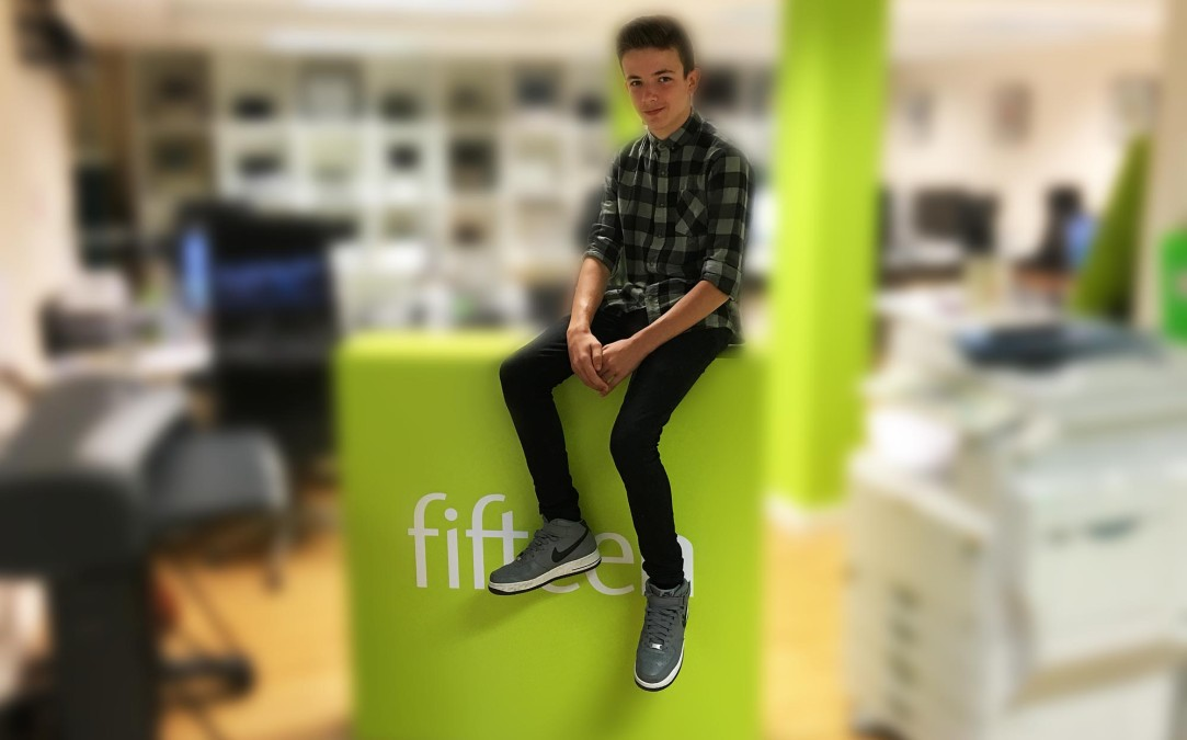 Oliver's Work Experience at Fifteen
