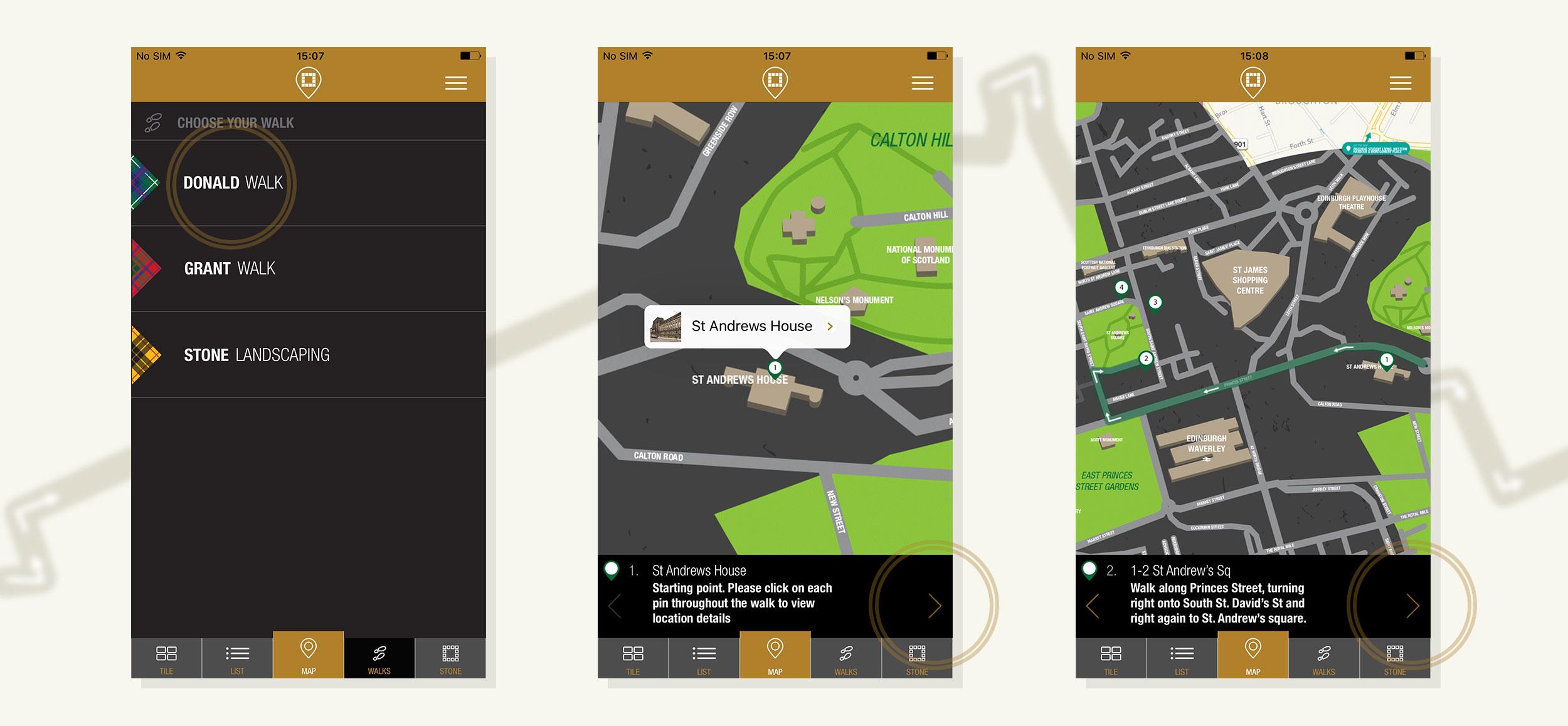 Map & Walks