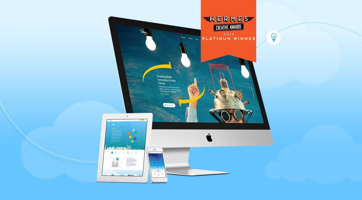 Another Hermes Award-Winning Website!