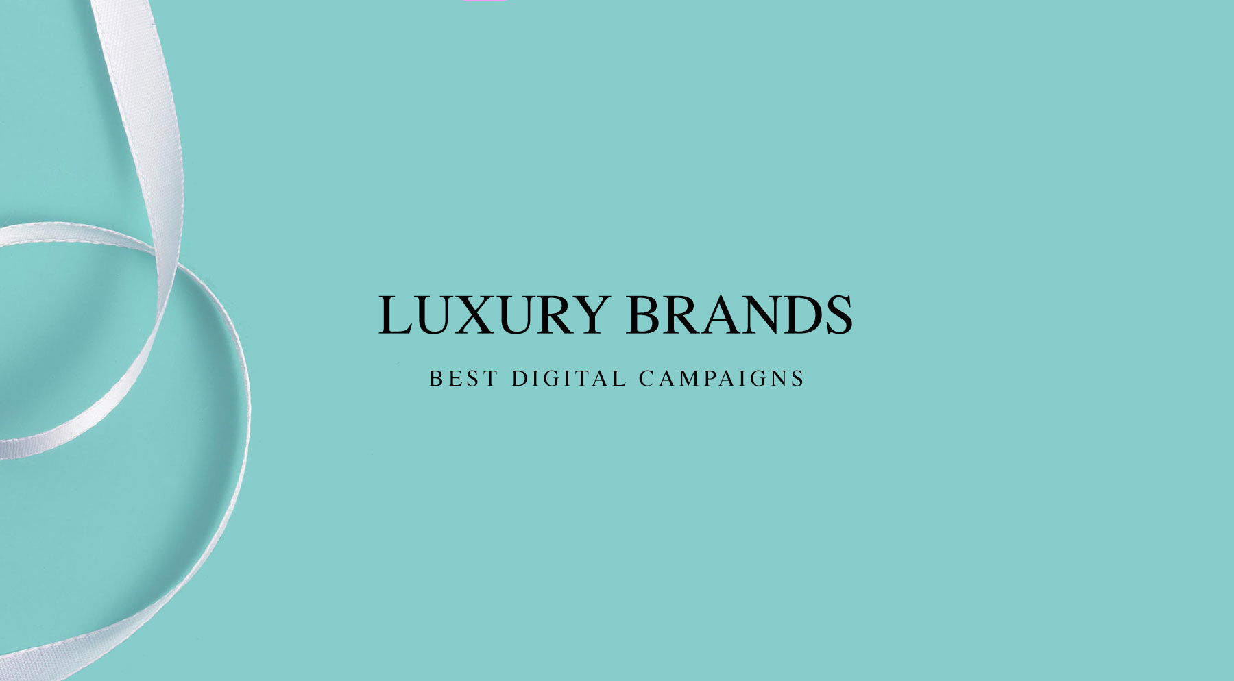 Digital campaigns from the luxury industry digital blog fifteen digital campaigns from the luxury industry voltagebd Choice Image
