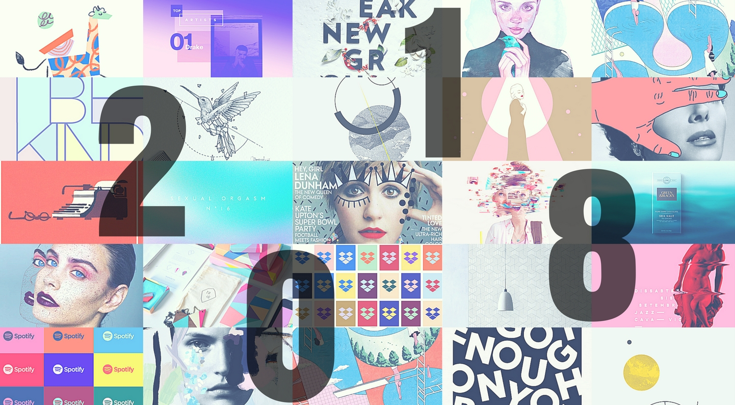 New Graphic Design Trends: Design Trends For 2018
