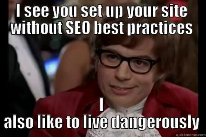 Austin Powers SEO meme