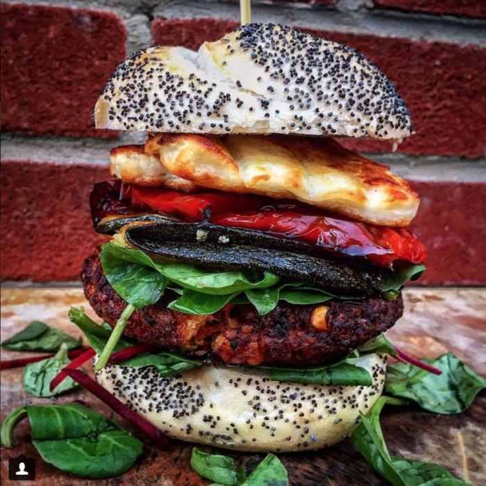 Marcus Cooks Burger