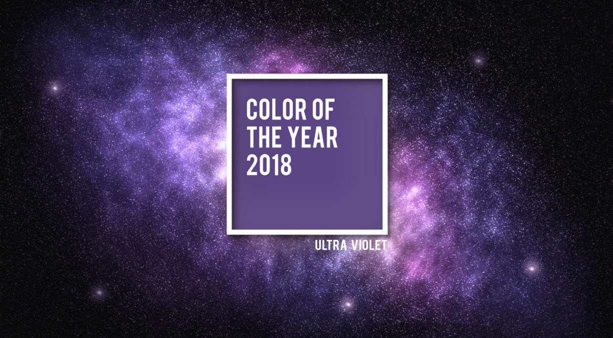 Ultra Violet – Pantone Colour of the Year 2018 Highlights the Power of Purple Branding
