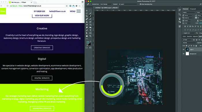 Colour Picker outside of Photoshop