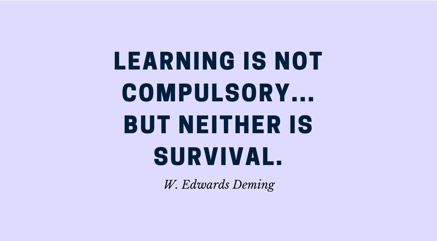 W.Edwards Deming Quotes
