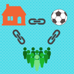 Local links such as sportsclubs and charities are very valuable for local SEO