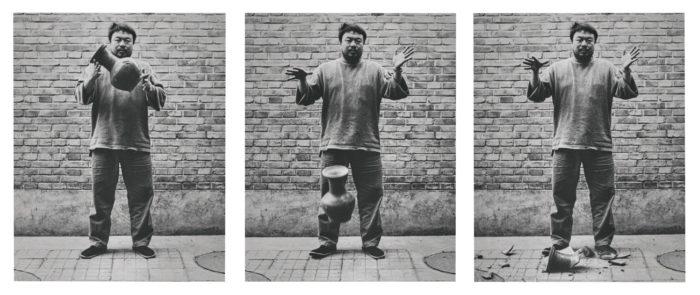 Ai Wei Wei Drops Urn (Source- Sotheby's)