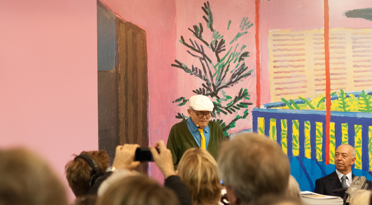 The Future of Fine Art: David Hockney's iPad Canvas