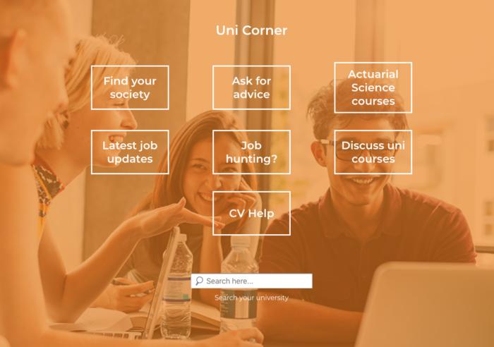 Actuaries Online Uni Corner