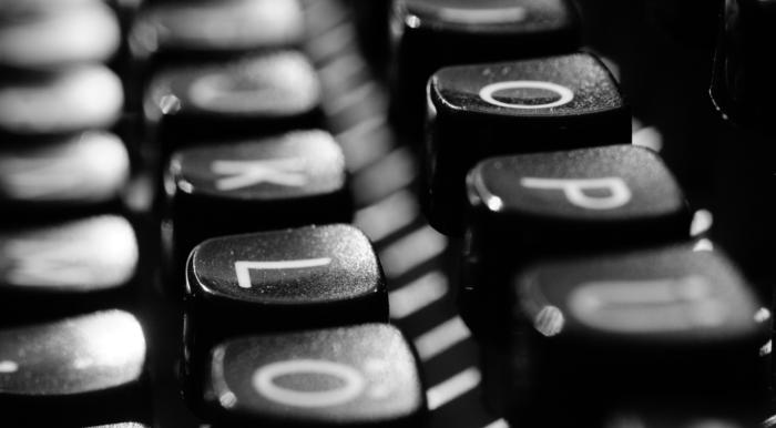 Write What You Know- Typewriter