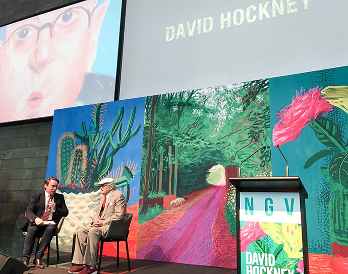 David Hockney (Source: My Poppet)