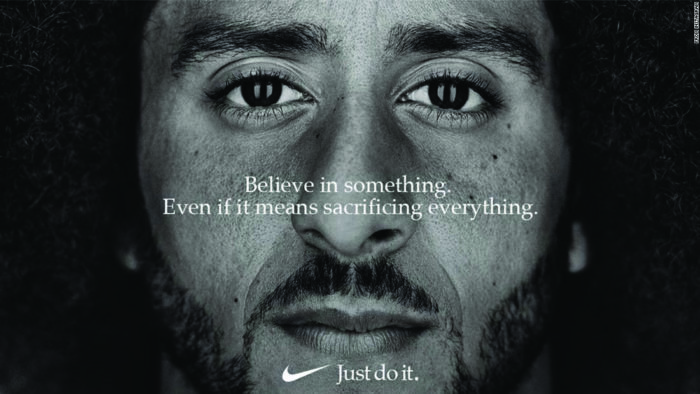 Colin Kaepernick Nike Ad (Brockpress)