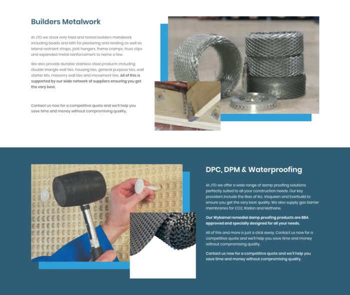 JTD building Supplies Site