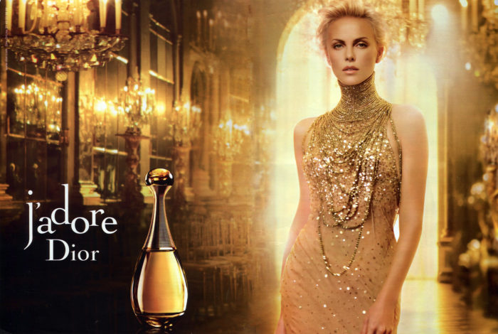 Dior Advert for The Lover Archetype