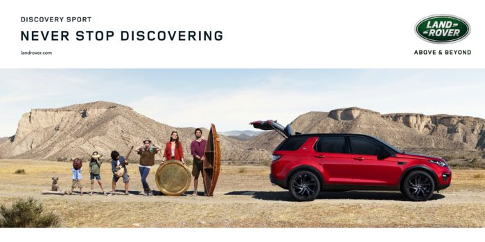 Land Rover Advert for The Explorer Archetype