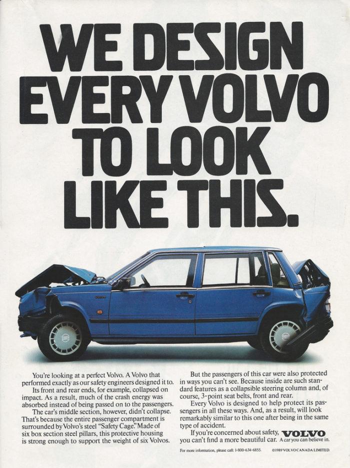 Volvo Advert for Caregiver Archetype