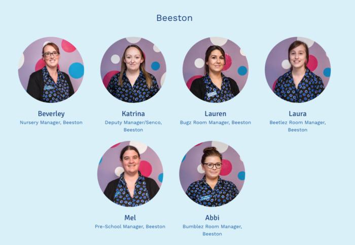 Bizzy Kids Staff Page