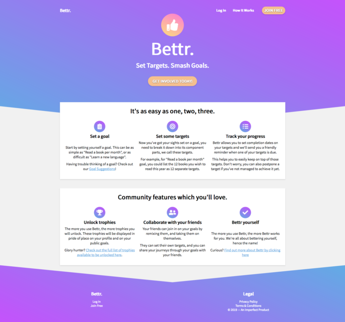 Bettr Home Page Hero