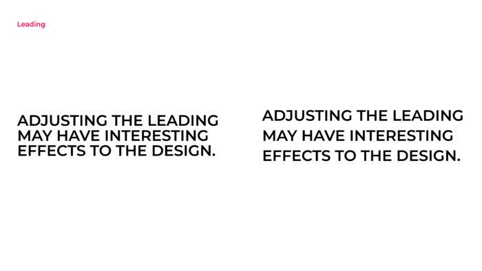 Leading in design
