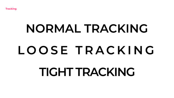 Tracking in design