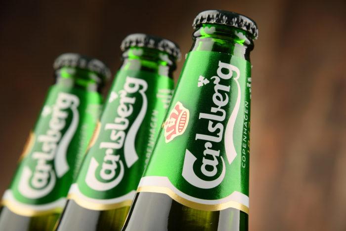 Carlsberg Label Design