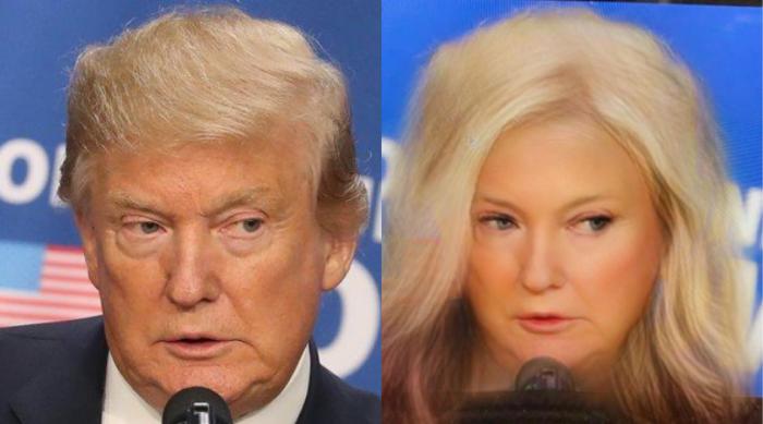 Donald Trump Gender Swap Snapchat