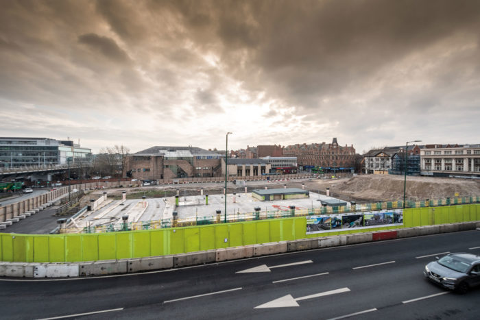 Nottingham bus station Market Insite 2019
