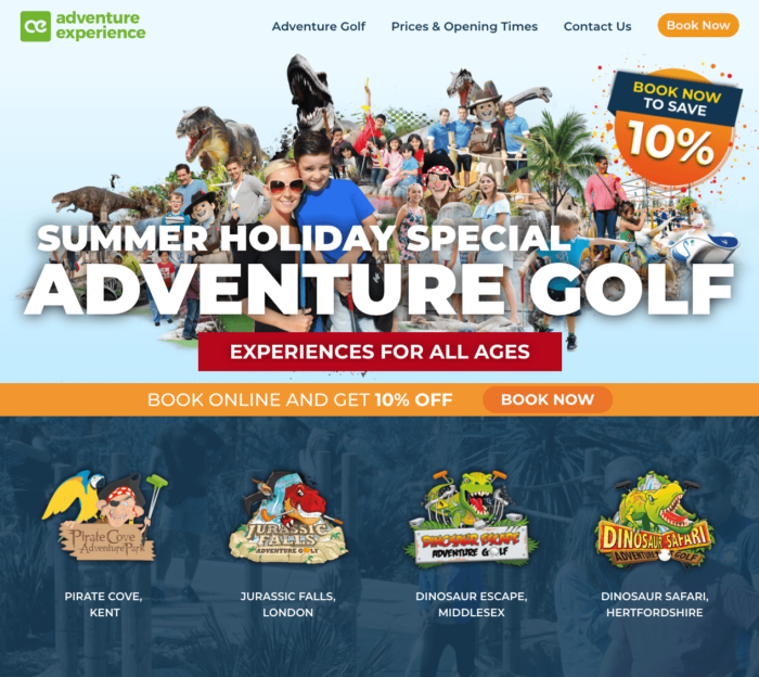 Adventure Experience Site New