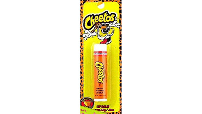Cheetos lip balm
