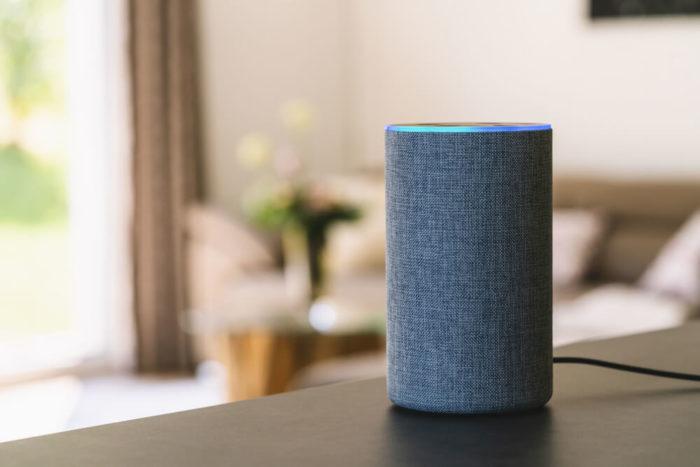 Google Home Lit Up Fifteen Design