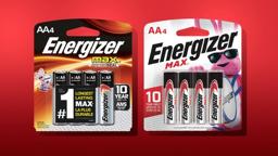 New Energiser bunny packaging