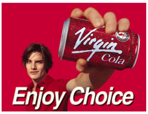 Virgin Cola Ad